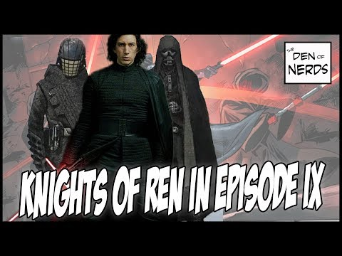 Download Youtube: Knights of Ren in Episode IX | Why Supreme Leader Kylo Ren WILL Grow the Order | Star Wars Theory