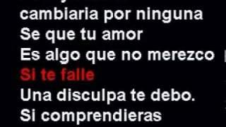 Disculpame - Blanco Negro cholo karaoke.MPG