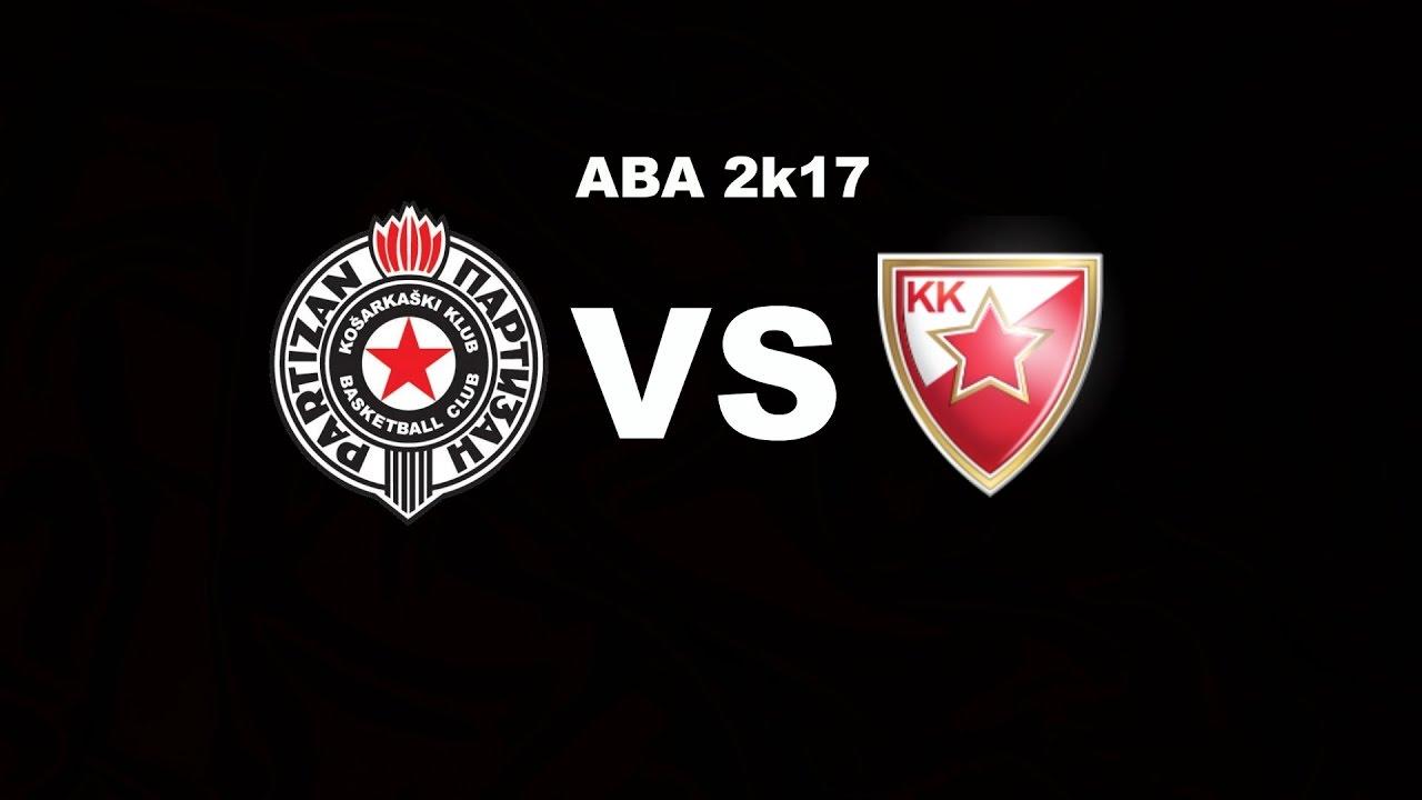 Aba 2k17 Kk Partizan 200910 Vs Kk Crvena Zvezda