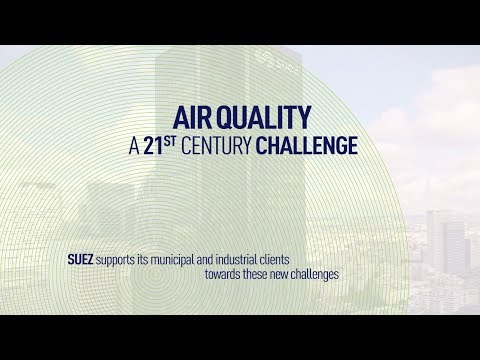 SUEZ presents its solutions for protecting air quality - SUEZ