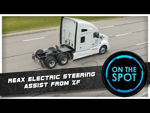 On The Spot | ReAX Electric Steering Assist By ZF