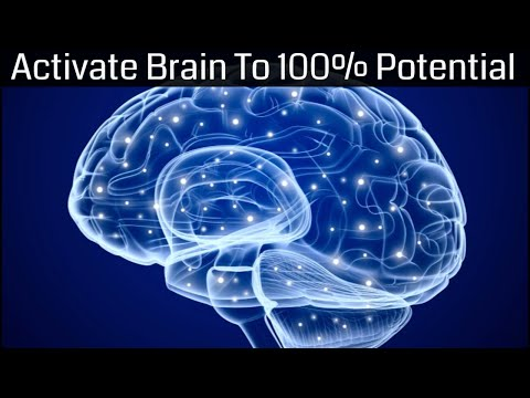 Whole Brain Function | Activate The Entire Brain - Brain Hemisphere Synchronization