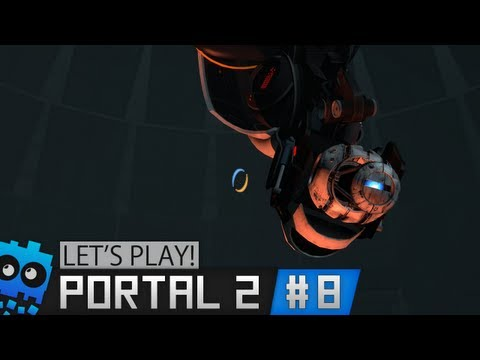 Let's Play Portal 2! - TRAITOR! - Part 8