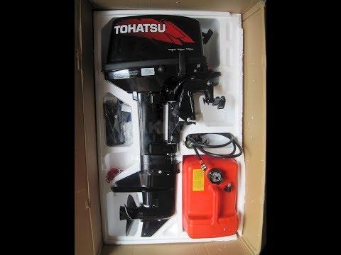Лодочный мотор Tohatsu 18 Е2S Обзор Прелести и Секреты