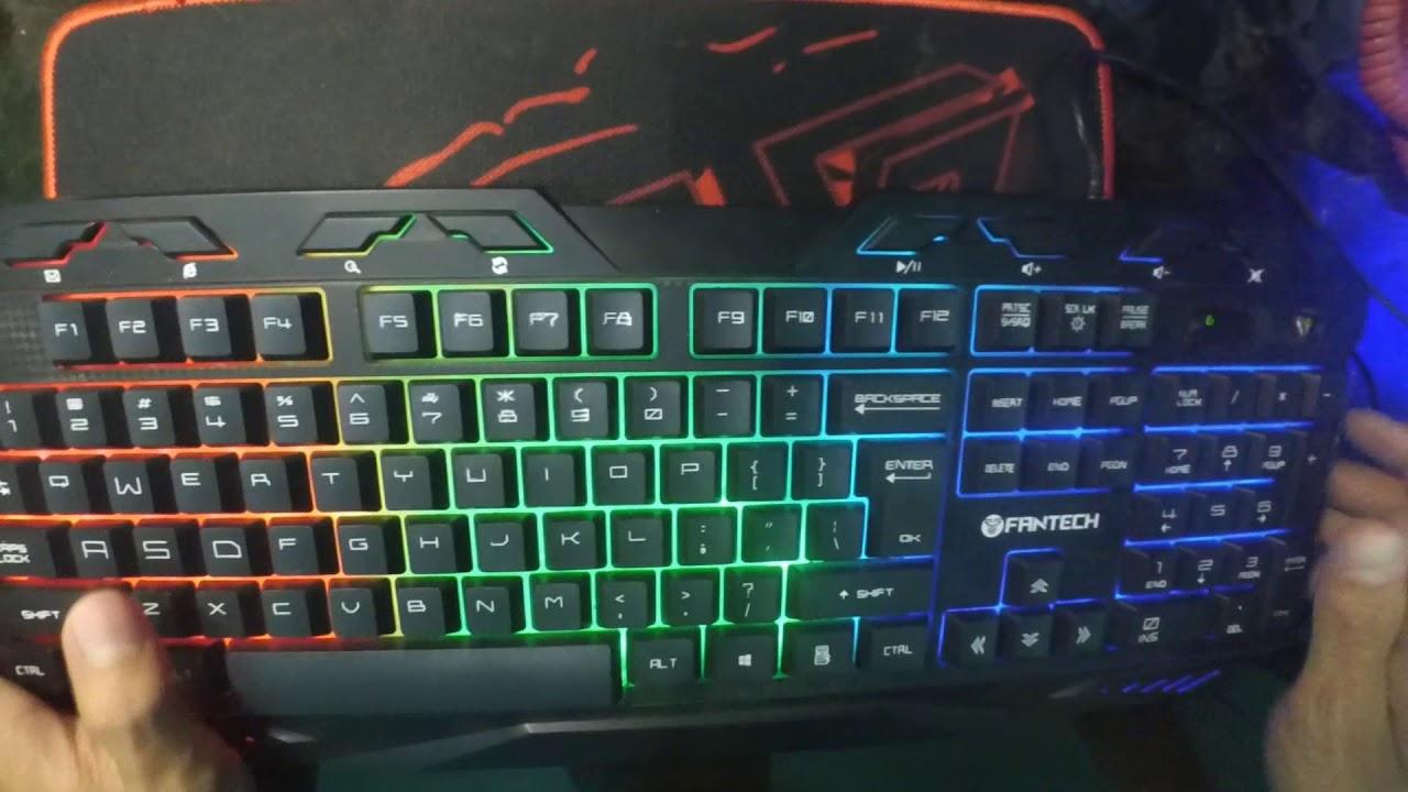 Keyboard Gaming Murah Berkualitas Bagus Fantech K10 Youtube K12 Outlaw