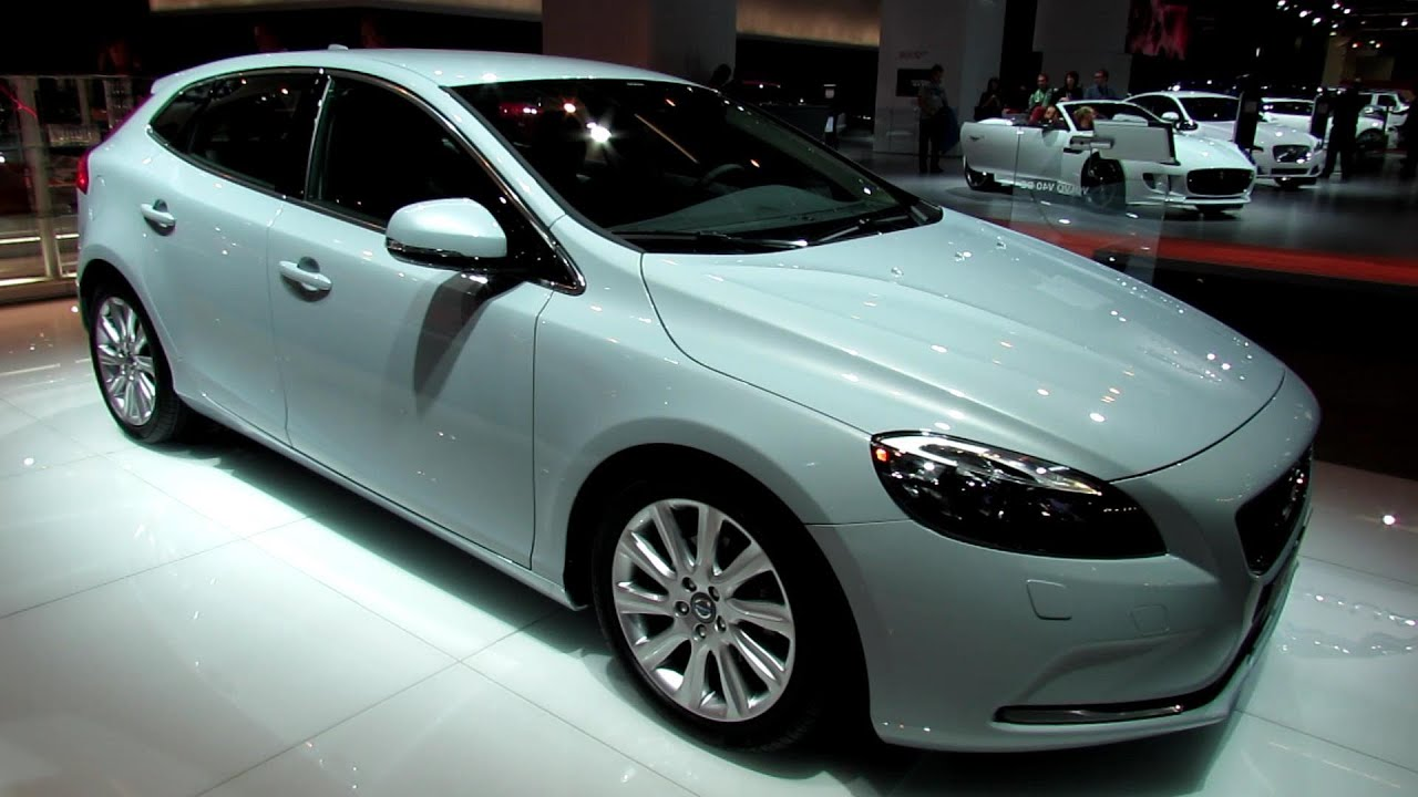 2014 volvo v40 d2 exterior and interior walkaround. Black Bedroom Furniture Sets. Home Design Ideas