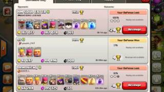 Clash of Clans - Quest To Top 200 # 2: Barbs + Archers