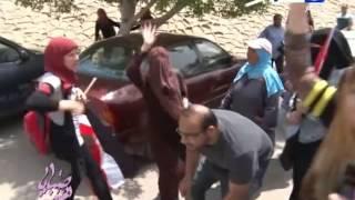 صبايا الخير - طالبة اخوانية تصرخ بجنون رهيب