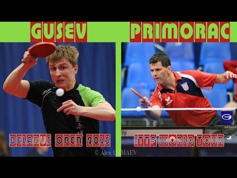 Arseniy GUSEV - Zoran PRIMORAC. Belarus Open-2015