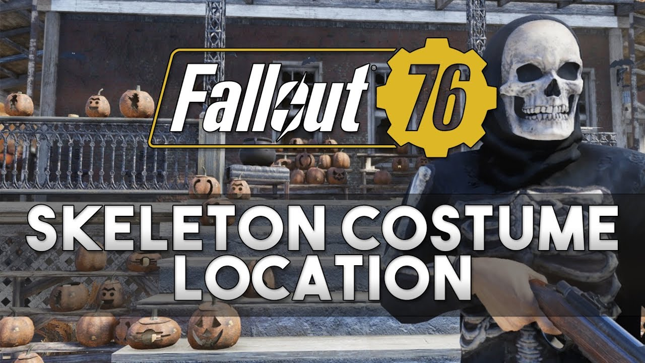 Fallout 76 - Skeleton Costume Location