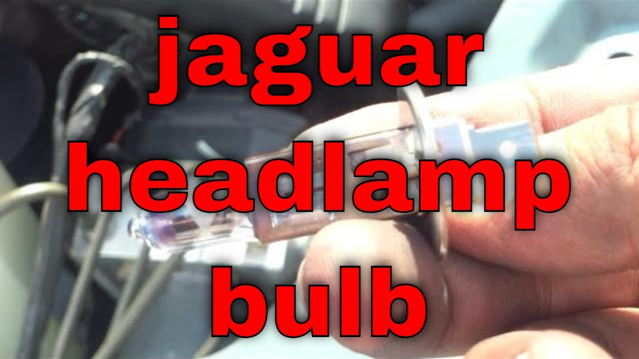 Quick Headlamp Bulb Replacement Jaguar X Type Youtube