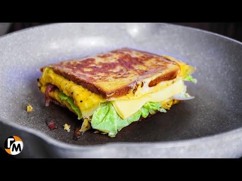 2 яйца да 2 х...ца за 5 минут! Самый простой и быстрый бутерброд в мире! — Голодный Мужчина, ГМ #260