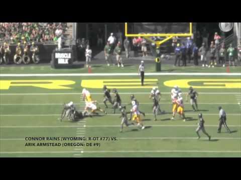 2015 NFL Draft Prospect: Connor Rains (Wyoming: OT #77)
