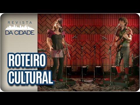 """Duo Badulaque, Espetáculo """"Peer Gynt"""" e CineSESC - Revista da Cidade (24/02/2017)"""