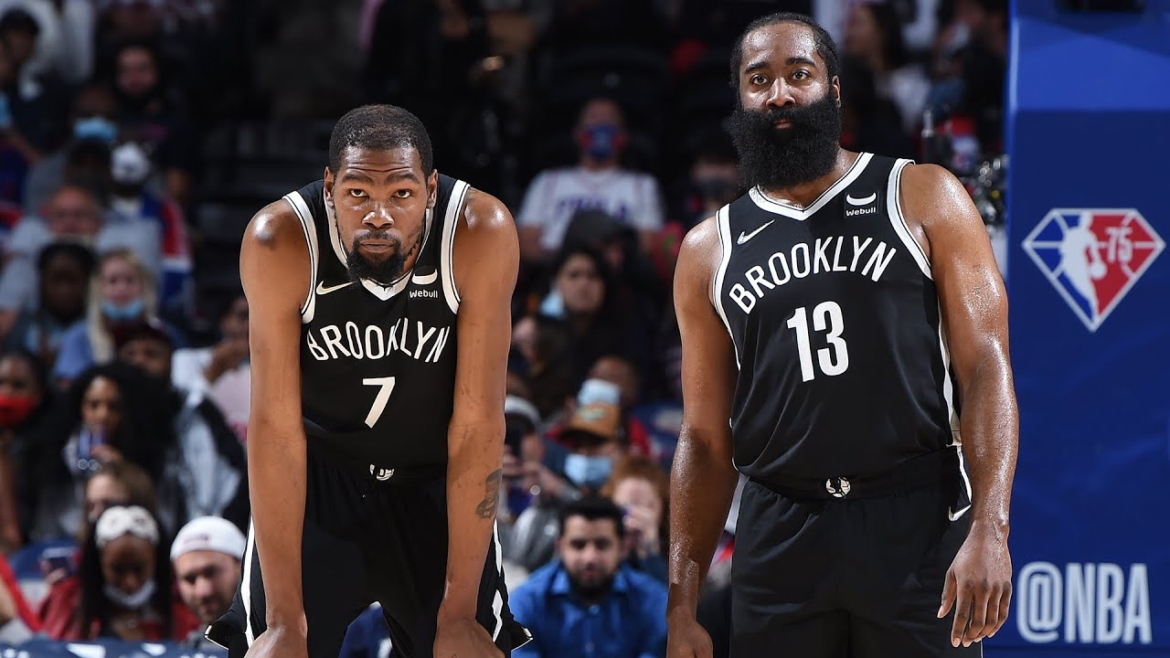 James Harden & Kevin Durant COMBINE For 44 PTS! 🔥