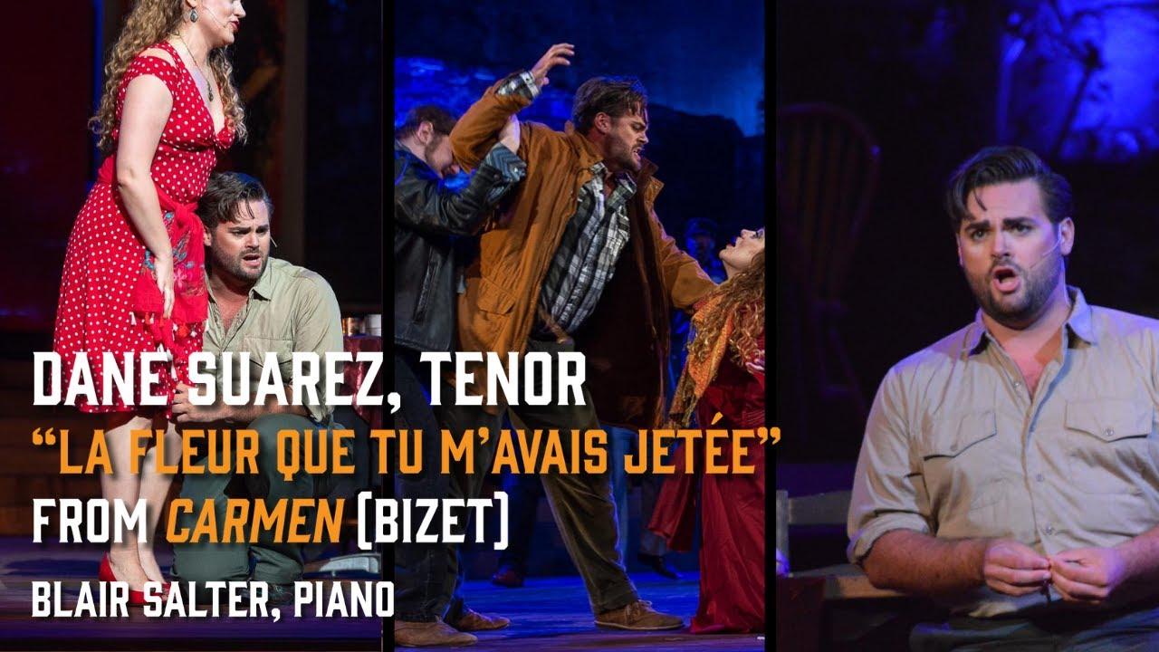 """""""La fleur que tu m'avais jetée"""" from Carmen (Bizet) - Dane Suarez, tenor - 11/29/20"""