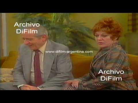 """Teatro de Humor """"Si estan los chicos no puedo"""" 1984"""