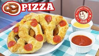 PIZZA PRETZELS! | RECETA FÁCIL | EL GUZII