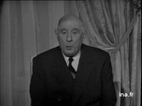 "Charles de Gaulle ""Cabri, l'Europe ! l'Europe !"""