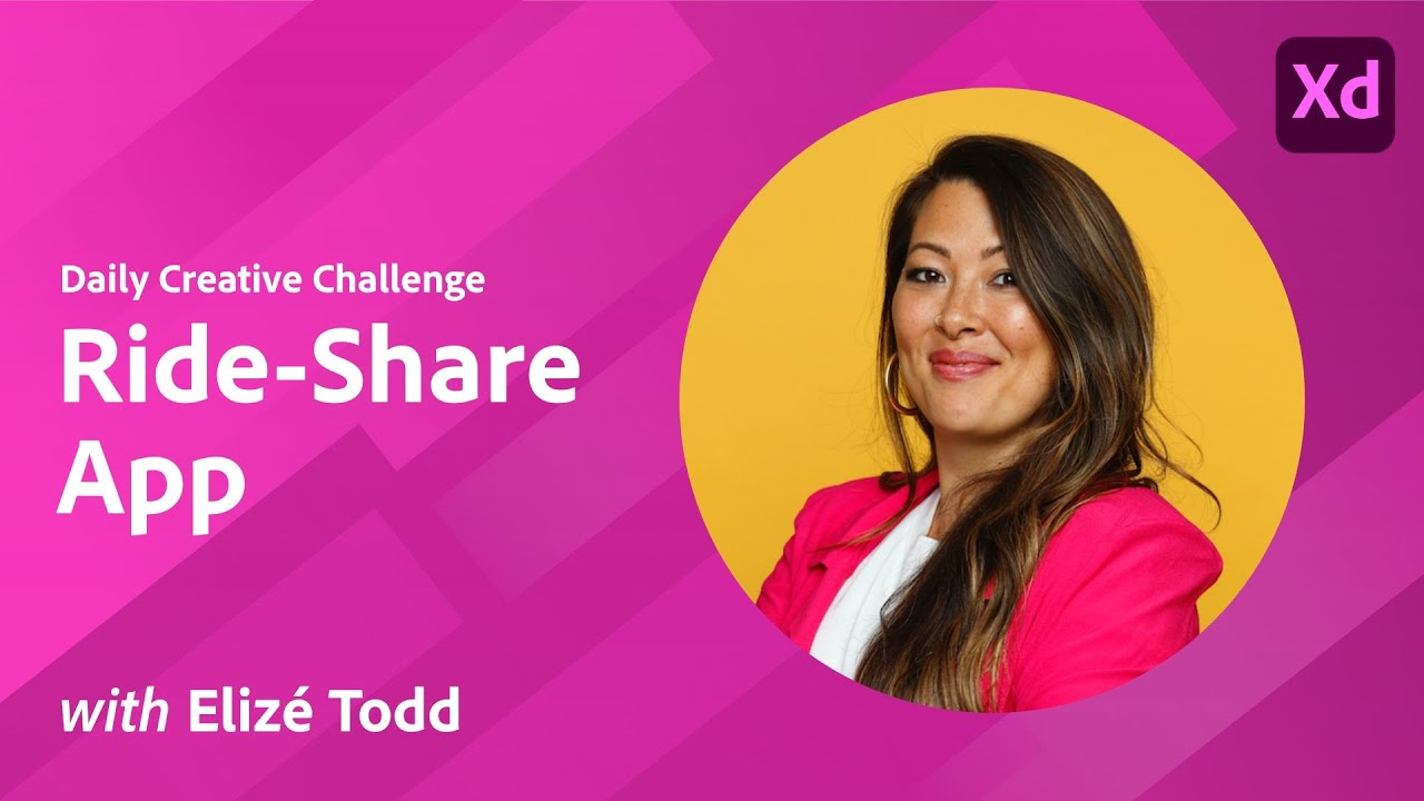XD Daily Creative Challenge - Ride-Share App