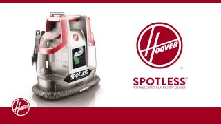 Hoover Spotless Portable Carpet & Upholstery Cleaner - How To Use Self-Clean