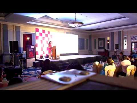 Anchor Mayuri hosting for Canara HSBC OBC Life insurance conference