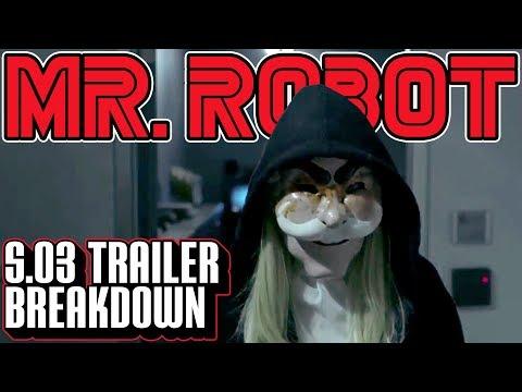 [Mr. Robot] Season 3 Democracy Trailer Breakdown | Frame by Frame
