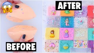 20 EXTREME SLIME PALETTE MAKEOVERS! *fixing my 2 year old slime