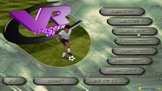 Actua Soccer gameplay (PC Game, 1995)