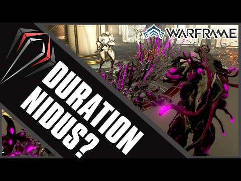 Warframe: DURATION NIDUS?