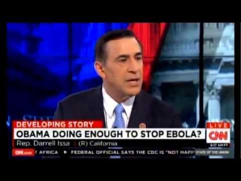 10-26-2014 Chairman Issa Discusses Ebola with Candy Crowley on State of the Union