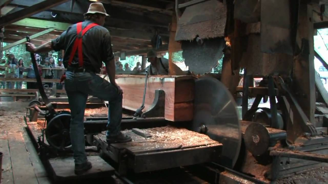 Saw Mill For Sale >> Working Historical Steam Powered Lumber Mill! - YouTube