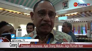 Download Video Pulang Kampung Presiden Micronesia Pieters  M  Christian Ajak Orang Maluku Jaga Rumah Ikan MP3 3GP MP4