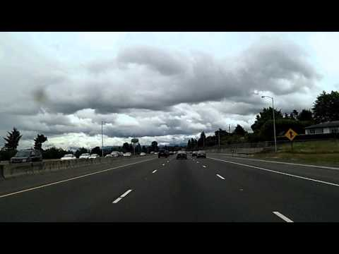 Into Portland and on to Multnomah Falls: I-5, 205, 84, Historic US 30