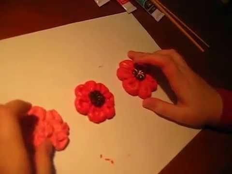 видео: ПОДЕЛКИ С ДЕТЬМИ ! Цветы из соленого теста.