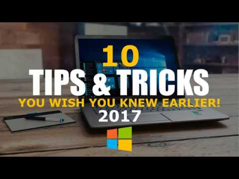 10 Windows 10 Tips and Tricks You Wish You Knew Earlier!   YouTube