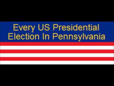 Every US Presidential Election in Pennsylvania