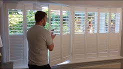 Quadruple Bi-Fold Standard Window Shutters