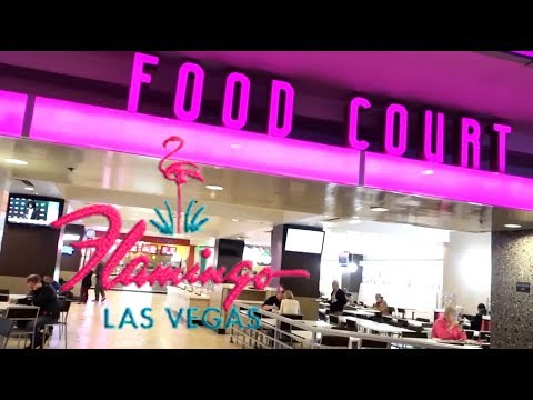 Flamingo Las Vegas Food Court Full Tour