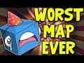 WORST MAP EVER! Minecraft Dropper Map! W/AshDubh