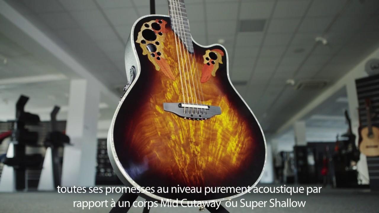Ovation Celebrity Elite Plus Acoustic-Electric Guitar ...