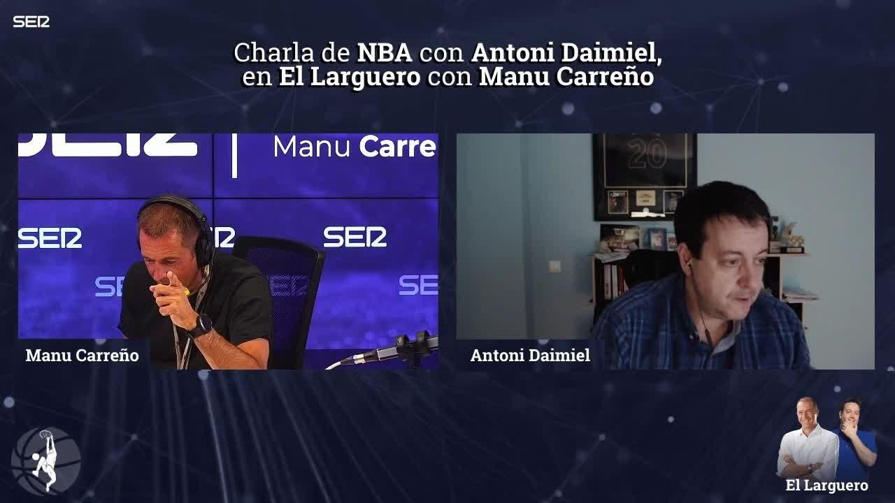 """Antoni Daimiel: """"Los Boston Celtics no me parecen candidatos al anillo a día de hoy"""""""