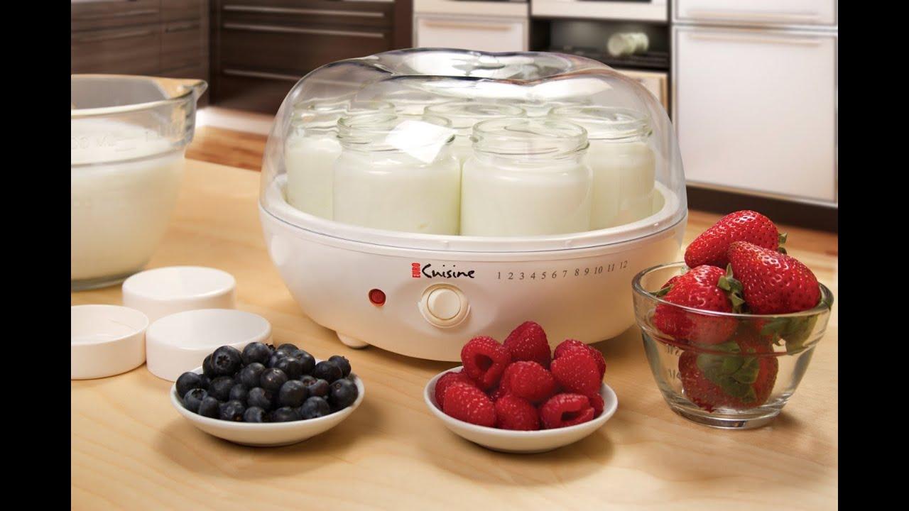 Revieweuro Cuisine Ym80 Yogurt Maker Youtube