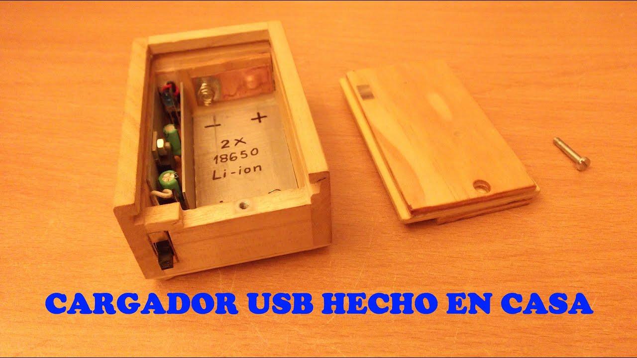 Cargador Usb Con Bater 205 As Li Ion Recuperadas De Un