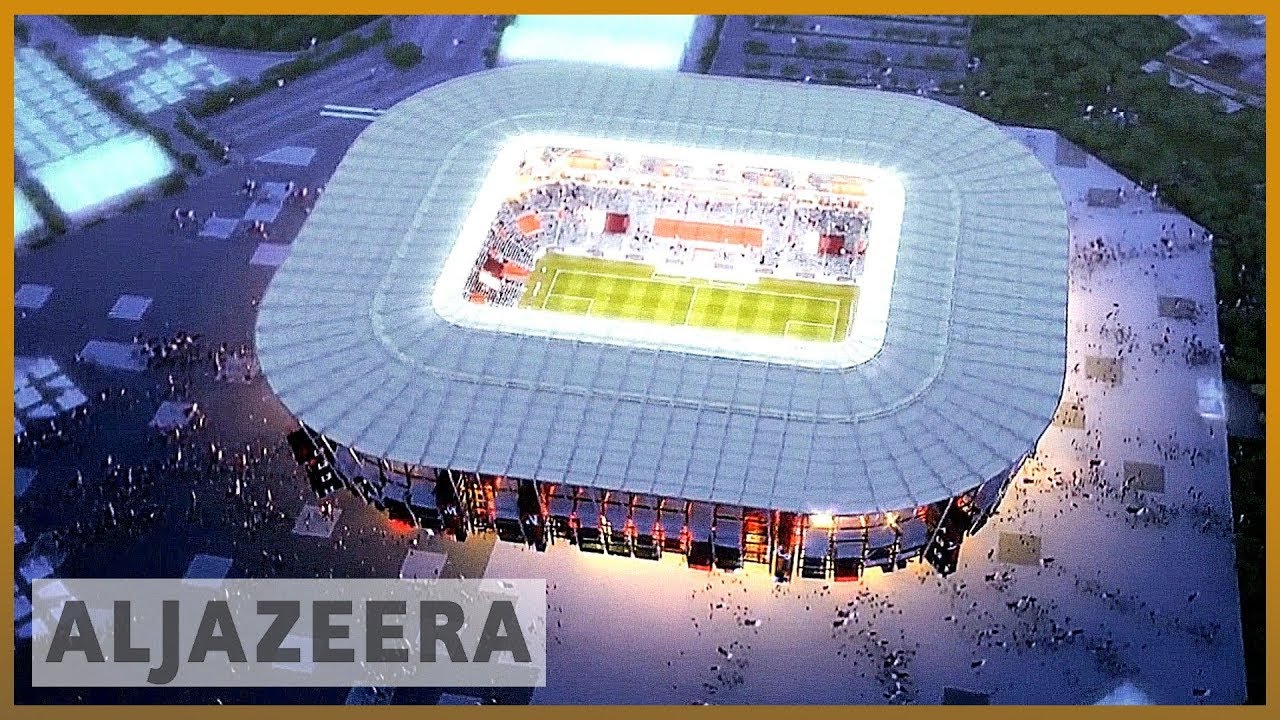 AlJazeera English:Qatar to build 'reusable' FIFA World Cup stadium
