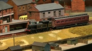 Midland,Railex,2013,Model Railway Exhibition,Steam,18th August,Derbyshire,HD