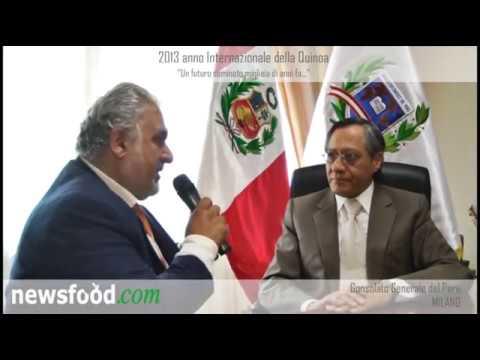 La Quinoa: Console Generale del Perù, Josè Ramiro Silva Delgado