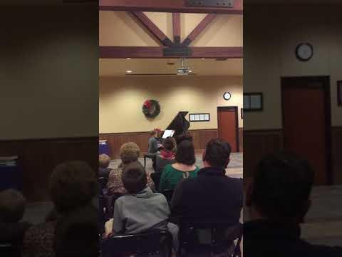 Dane Clark piano recital Episcopal School of Knoxville ESK #esksaints
