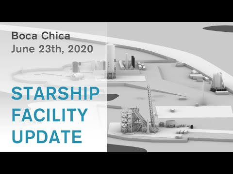 SpaceX Starship Launch Pad Update / June 24th, 2020 / #BocaChica #Starship #Spacex