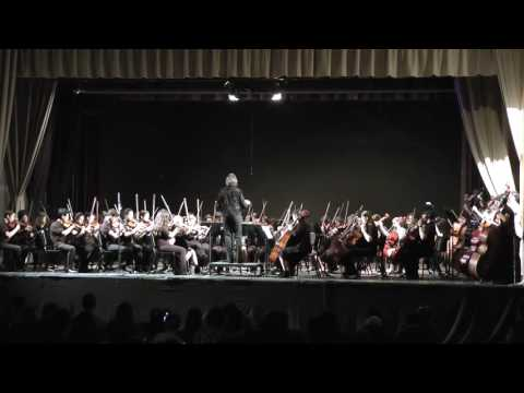 Paul Revere Charter Middle School Advanced Orchestra Spring Concert 2016
